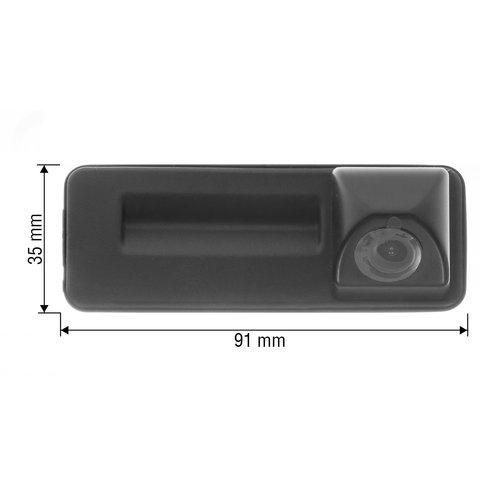 Камера заднего вида в ручку багажника для Audi A1 2012-2016 г.в. Превью 1