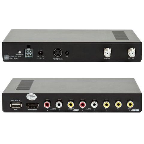Автомобильный цифровой DVB-T-тюнер с функцией записи Превью 1