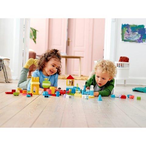 Конструктор LEGO DUPLO Коробка з кубиками Deluxe 10914 Прев'ю 6