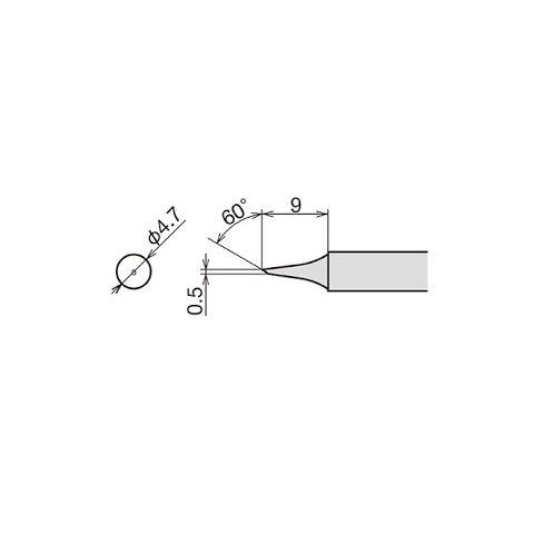 Soldering Iron Tip Goot RX-80HRT-0.5C Preview 1