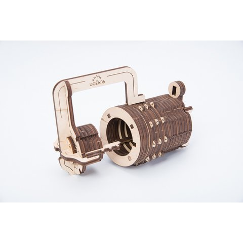 Mechanical 3D Puzzle UGEARS Combination Lock Preview 3